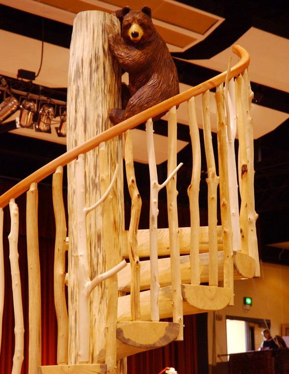 Фото 8 Балясины деревянные ветви